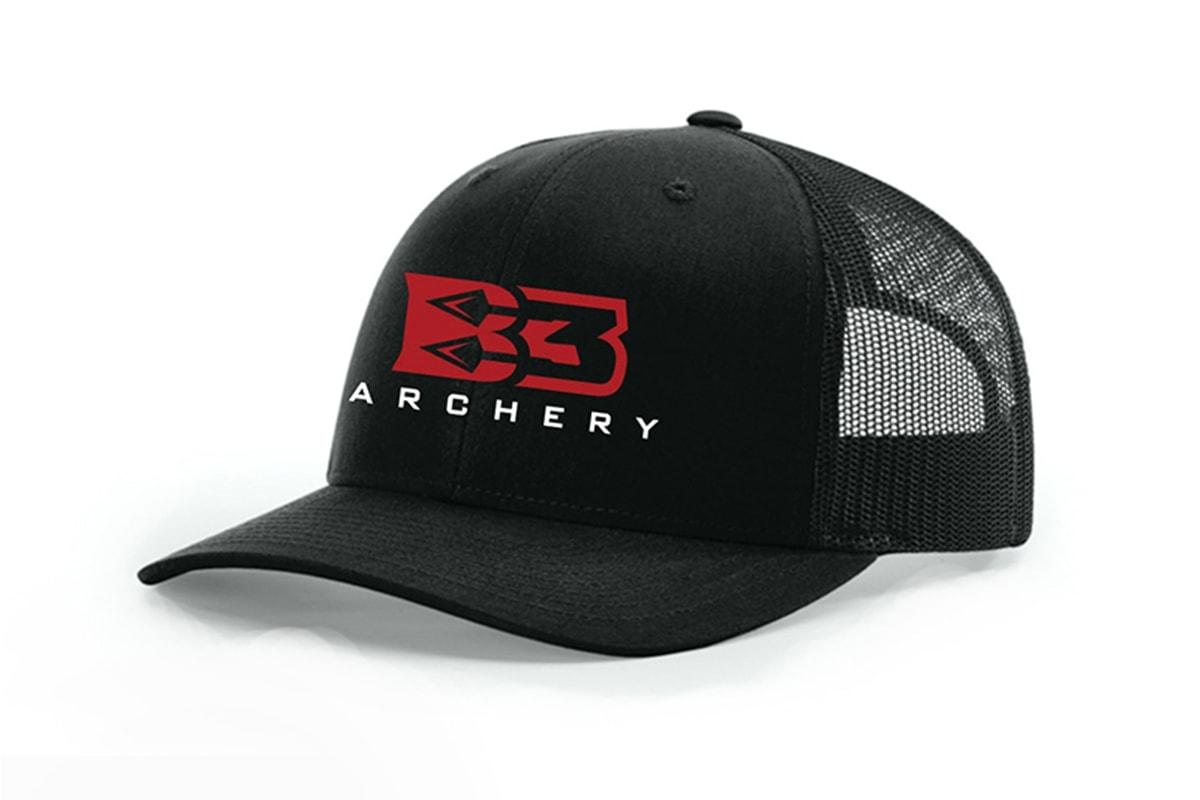 Black Branded Cap