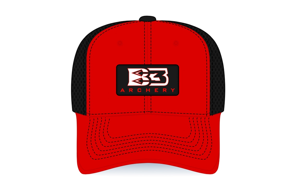Red Patch Cap